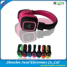 Colorful high quality wireless bicyle mini radio earphones for brands developping