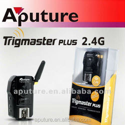 Aputure High Sync Speed wireless flash trigger - Trigmaster Plus II for Canon,Nikon, Pentax and Olympus