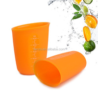 Food grade silicone measuring cups 500ML, silicone kitchen tools