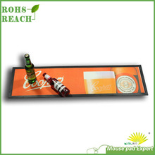 Custom Design Printable Rubber Beer Bar Mat