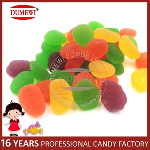 Assorted Fruit Shape Jelly Gummy Candies