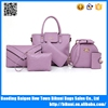 China new fashion butterfly design women PU leather tote bag handbag with long shoulder strap