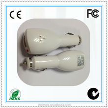 2014 New products dual usb car chargers for Iphone 5 made in china
