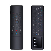 Best quality 2.4G Fly mouse with touchpad T6 air mouse IR remote for smart TV