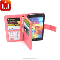 Phone Case for Samsung S5 PU Leather Wallet Phone Cover High quality
