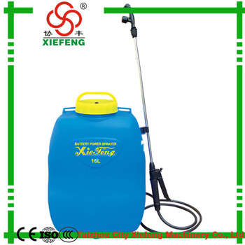 Hot sale custom manual pressure sprayers/battery powered backpack sprayer