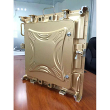P6 outdoor Led large screen display die casting aluminum cabinet