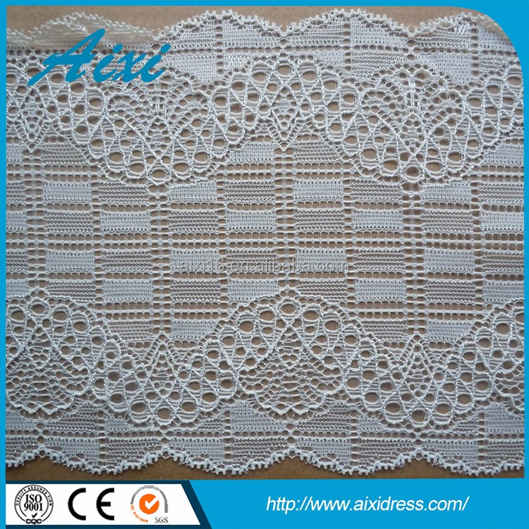 High quality cheap cord lace fabric 5 yard garment accessory