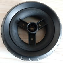 Filled PU Foam Stroller Tire With Customer Logo