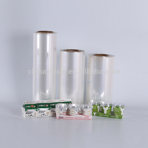 Promotion seasonal sleeve/label/printing shrink film for certificates