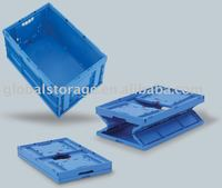 Stackable and foldable Container