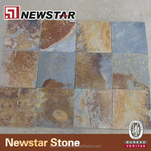 Natural split exterior floor paving stone interlocking outdoor slate tile