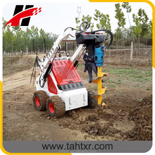 Electric 12V skid steer loader with petrol engine Briggs&stratton