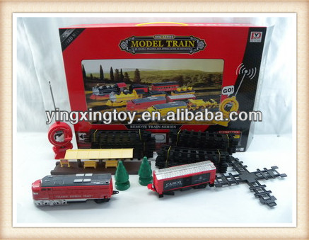YINGXING TOYS 2013 year new product rc speed model train toy