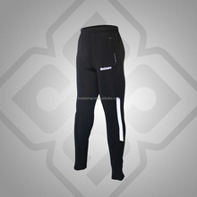 Black/White Professional custom logo track man training pants