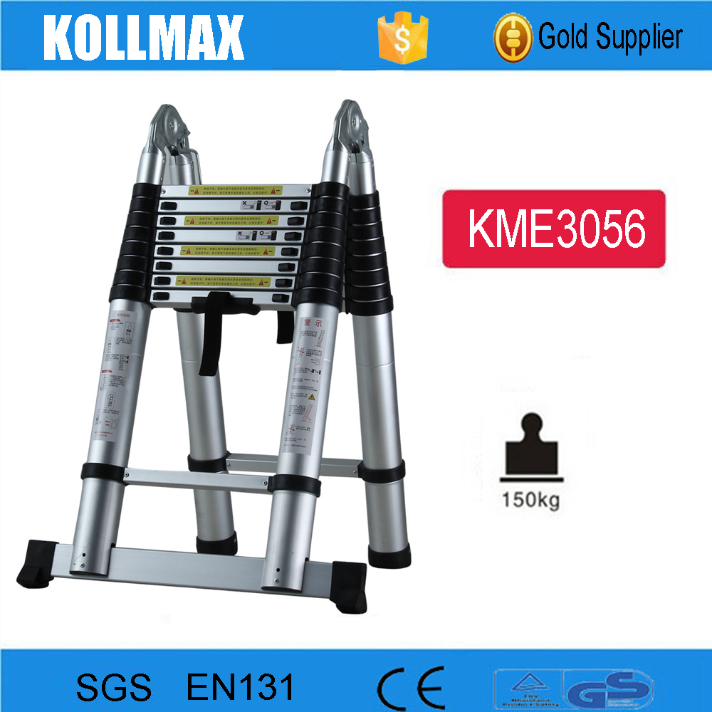 5.6m Extension Agility Super Folding Telescopic Aluminium Lightweight Step Ladder