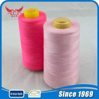 China RCL high quality 100% spun polyester raw material sewing thread