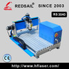 Low cost convenient mini cnc router 3040 with CE certification for drilling and cutting on small materials