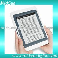 5 inch TFT touch screen mid electronic book with WIFI Record FM function and 3G optional