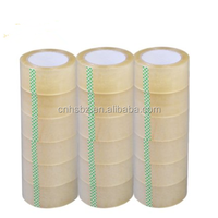 6 Rolls Clear Packaging Shipping Tape Bopp Sealing Tape 48MM*80M*45MIC