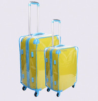 Best quality clear luggage cover pvc packaging bag