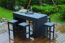 french coffee shop HB21.9205 outdoor patio bar furniture