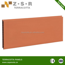 light weight exterior terracotta wall tiles, terracotta wall panel decorative wall tiles clay bricks
