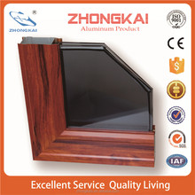 cheaper price wooden aluminium profile door catalog
