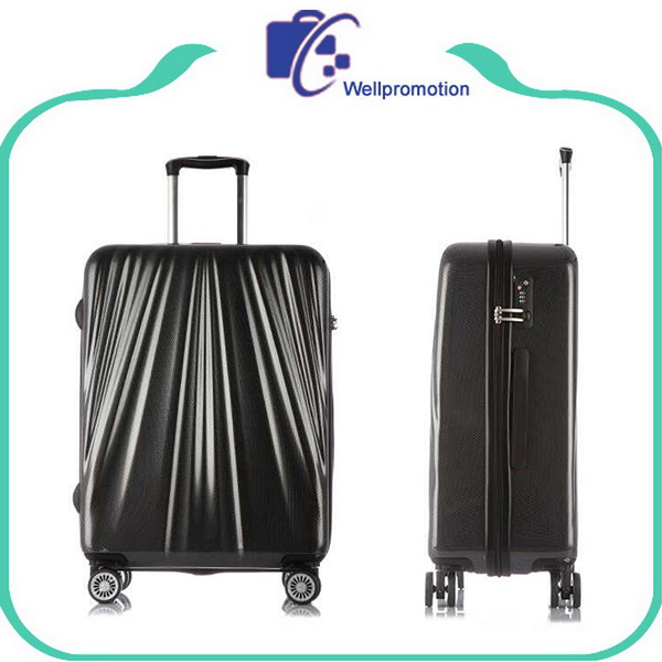 High quality hot sale abs +pc 20 inch trolley luggage suitcase