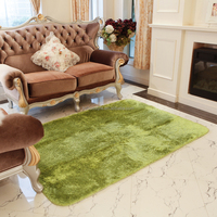 Polyester Filament Wool-like Design Modern Shaggy Rugs for living room with Non-skid PVC Point Backing,6.23'W x 7.87'L