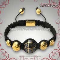How To Make Bracelets Round Gold Plated Jewelry Wholesale