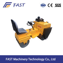 Construction machinery double drum vibratory mechanism road roller