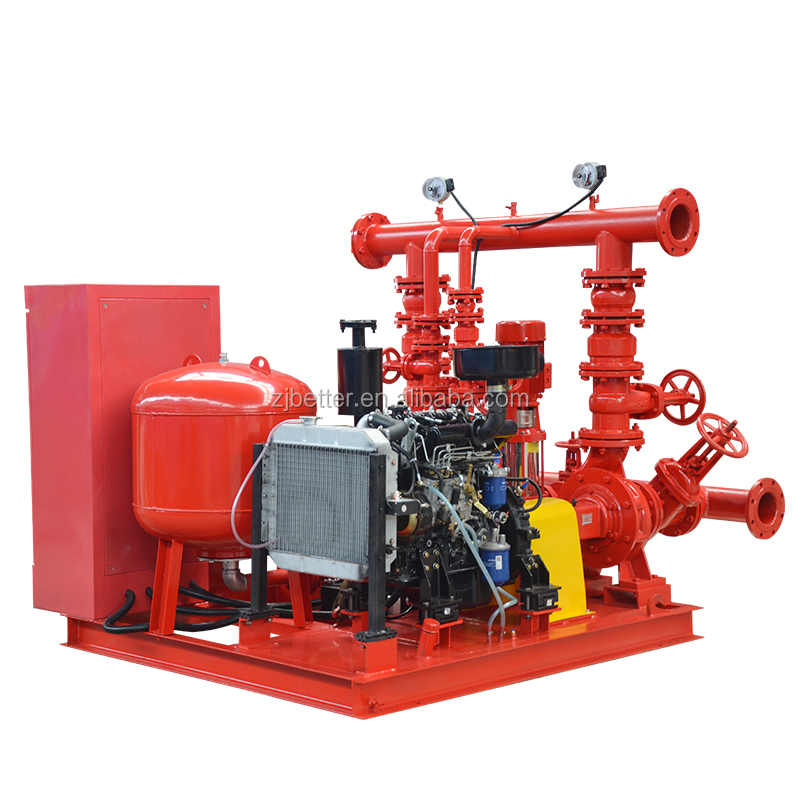 NFPA 20 <strong>100</strong>-6000gpm Skid Mounted Fire <strong>Pump</strong>