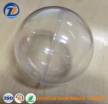 Transparent plastic openable packing ball clear sphere Christmas decoration ball