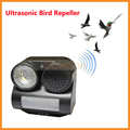 PIR Bird Repeller Motion Activated with Flashing LED Light and Harmless Sound