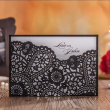 Best selling wedding/ceremony/party invitation pocket card cw5259