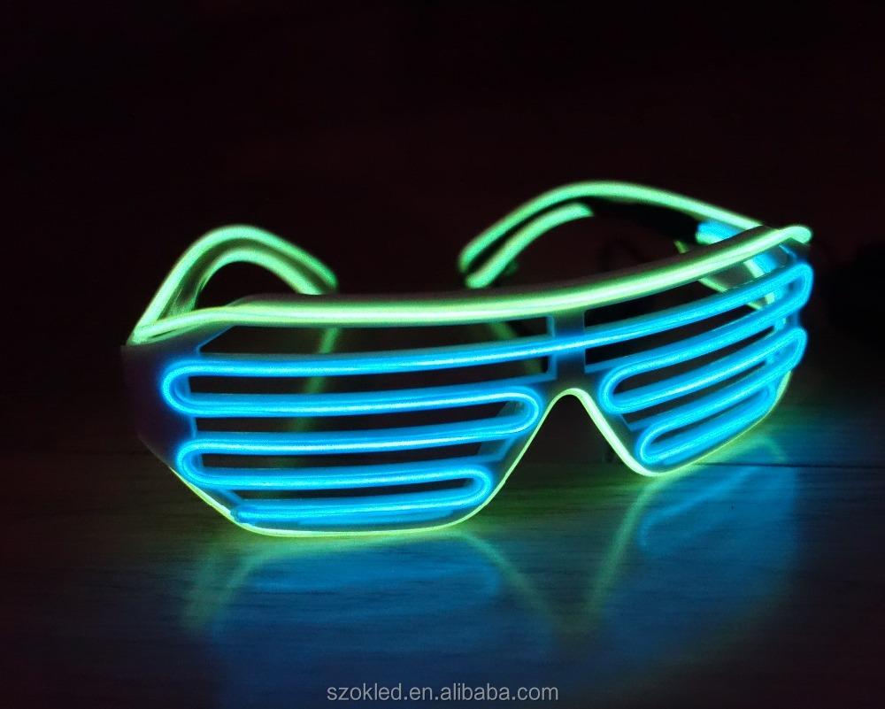 Fashionable Sound Activated Led Sunglasses, Fashionable Sound ...