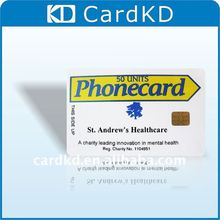 glossy lamination SLE5542 contact business ic card
