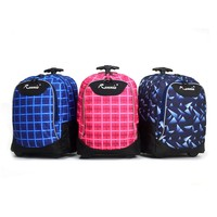 Multipurpose trolley backpack travel bag school bag