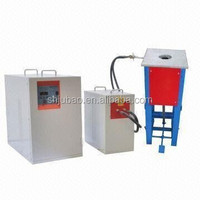 low cost induction melting furnace for gold and silver smelting working