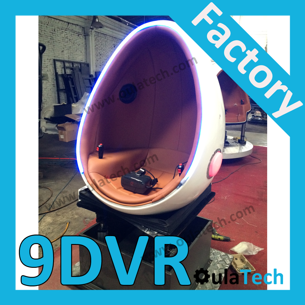 Funny amusement park 5D 7D 9D egg VR cinema single seat Simulator equipment 2016