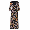 printed dress 2018 for women/plus size printed dresses