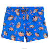 little young mens beach shorts swimsuit with fashion style