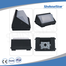 China manufacture 10W indoor light square shape grey/black led wall lamps hotel led