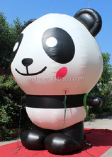 Attractive!!! 13ft/400cm/4m high custom inflatabe panda advertising inflatable animal W504