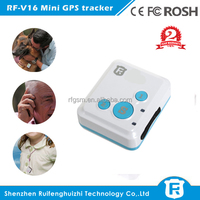 Super mini CE Rohs FCC hidden gps tracker personal rechargable kids child gps tracker bracelet