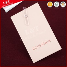 Customized Recycled Coated Paper Clothing Label For Underwear