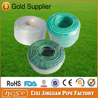 Cixi Jinguan Manufactures Standard Green Garden Soft Hose,Food Grade PVC Water Hose Pipe,Soft PVC High Pressure Car Washer Hose