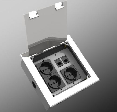 good quality floor waterproof outlet box