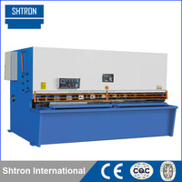 QC12Y 6x2500 CNC Hydraulic Sheet Metal Pendulum Shearing Machine , stencil cutting machine